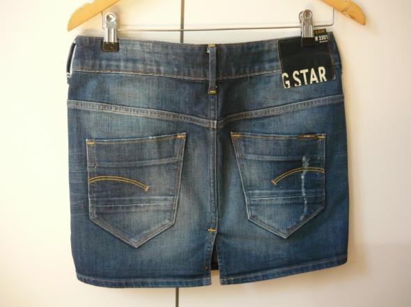 Jeansowa spódniczka mini GStar Orglinals Raw 26