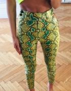 Wężowe spodnie...