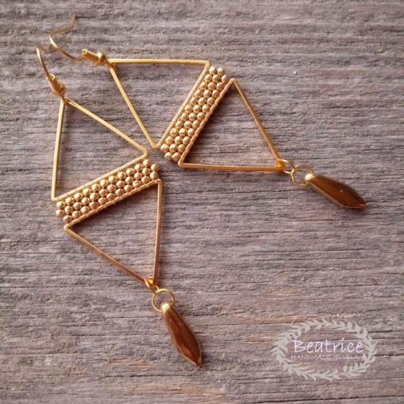 Kolczyki Triangles