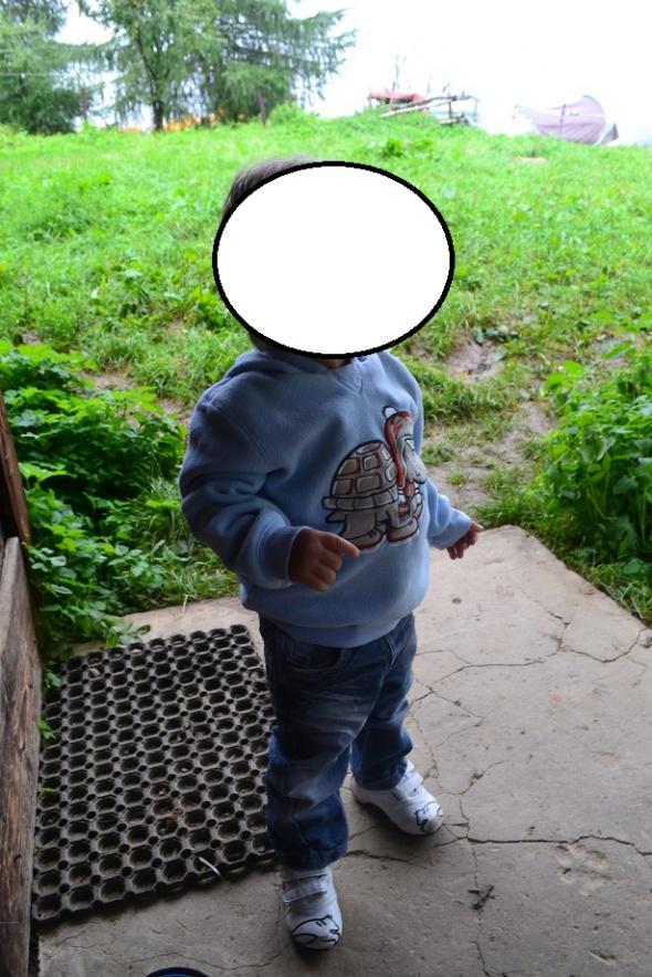 Bluza żółwik 92 98cm 2 3 latka Topolino