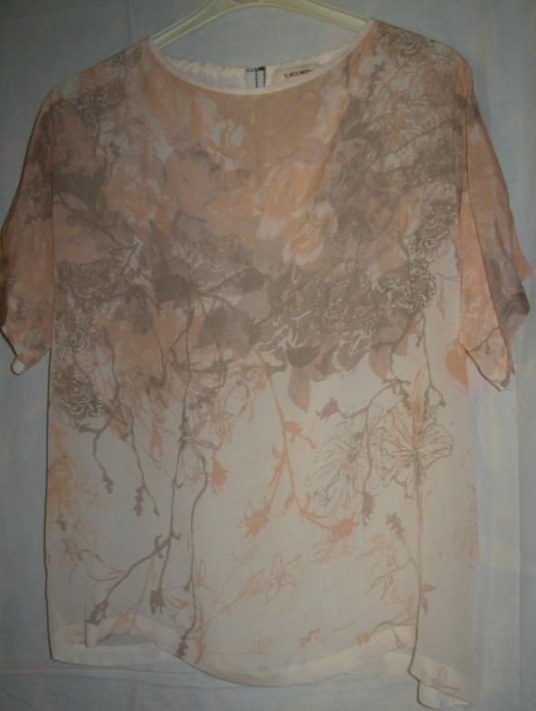 Bluzka z wiskozy oversize MOS MOSH 40