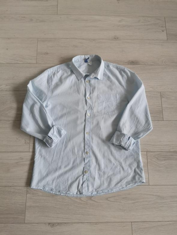 Koszula bluzka mgiełka H&M luźna przewiewna S M L