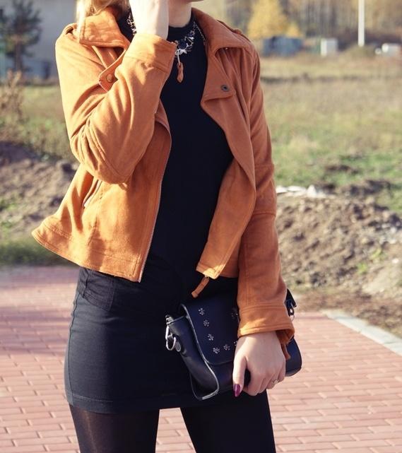 Spódniczka mini czarna XS...