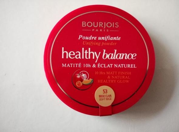 Bourjois Healthy Balance puder odcień 53 Beige Clair NOWY