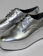 nowe srebrne buty Calvin Klein...