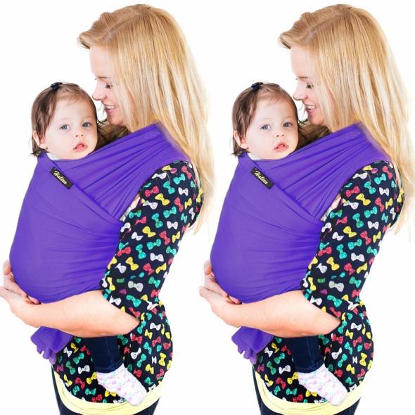 Chusta do noszenia dziecka 5m szer 50cm mix kolorów