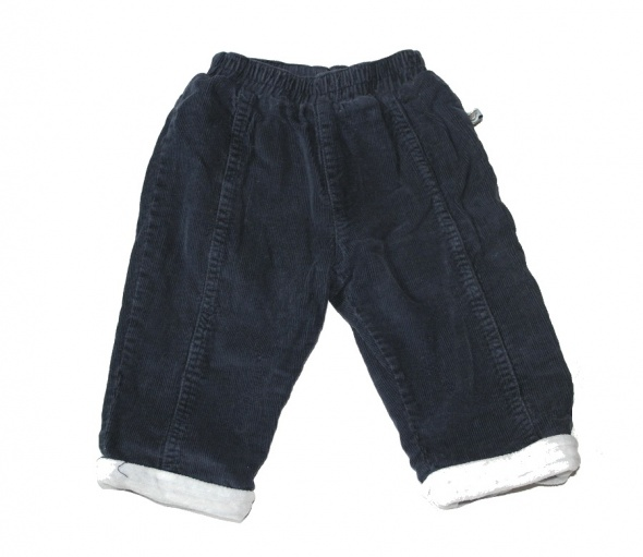 Spodnie sztruksowe 68