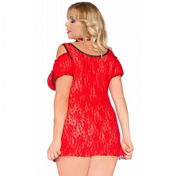 SB1008 seksowna koszulka nocna idealna bielizna na walentynki w duzym rozmiarze