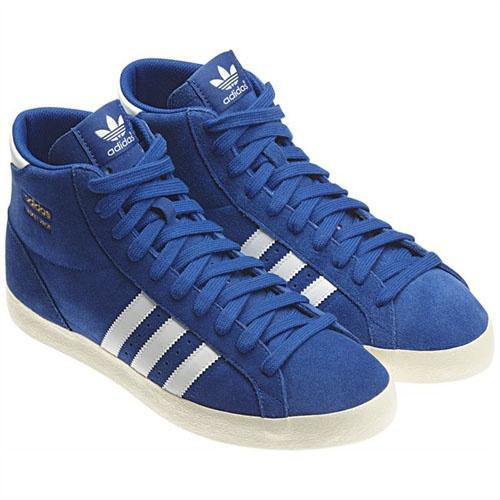 adidas basket profi niebieskie