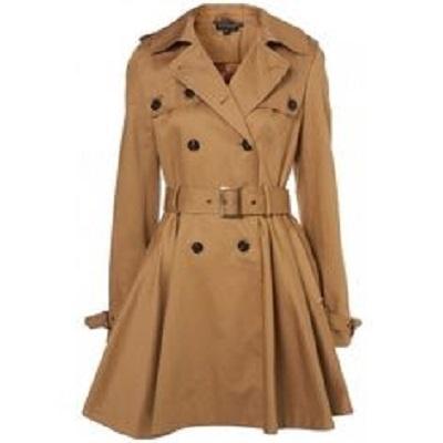 Plaszcz plaszczyk EVie L zakiet kurtka z paskiem