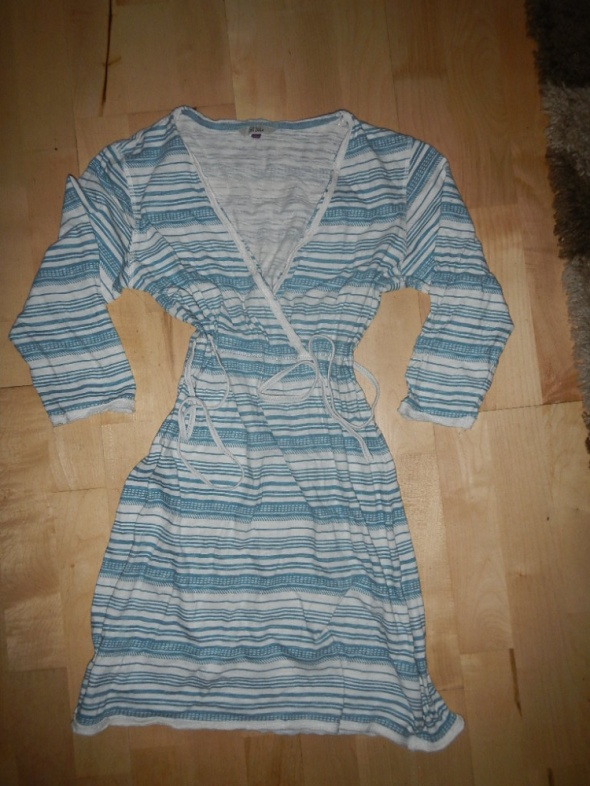 FAT FACE sukienka w paseczki z USA L XL XXL
