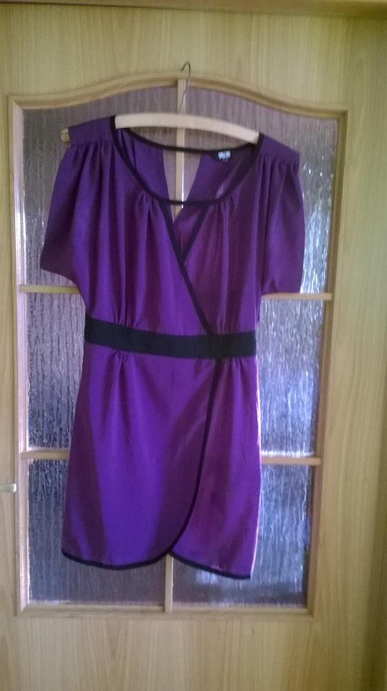 Sukienka Asos fiolet sexy krój 38 40