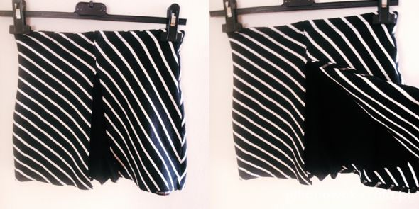 Spodenki spodnio spódnica s