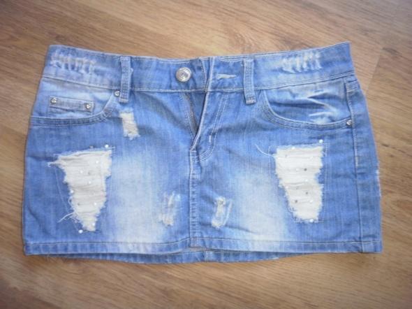 Mini Jeansowa spódniczka