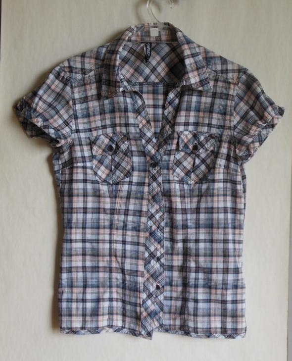 Takko koszula w kratkę bluzka kratka 38...