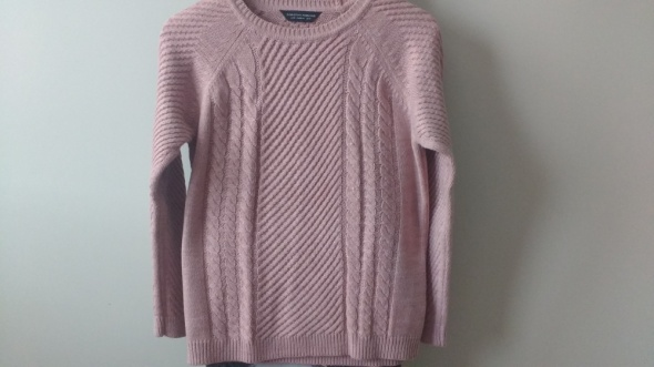Gruby ciepły sweter...