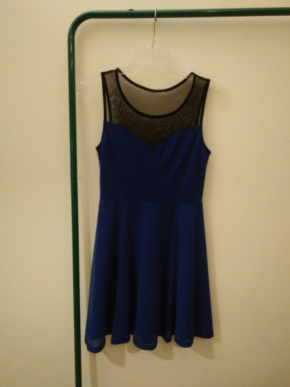Kobaltowa sukienka New Yorker...