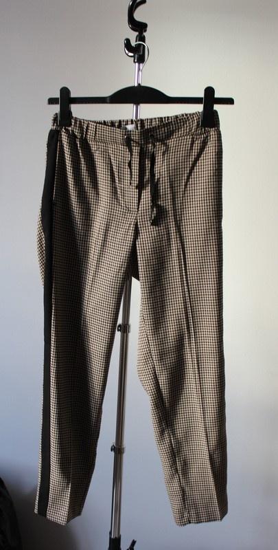 Eleganckie spodnie z lampasem...