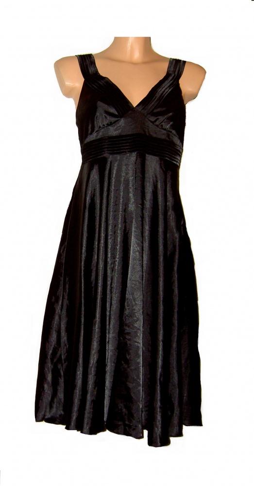 czarna suknia vila S M