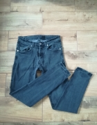 Modne rurki jeans wysoki Stan M...