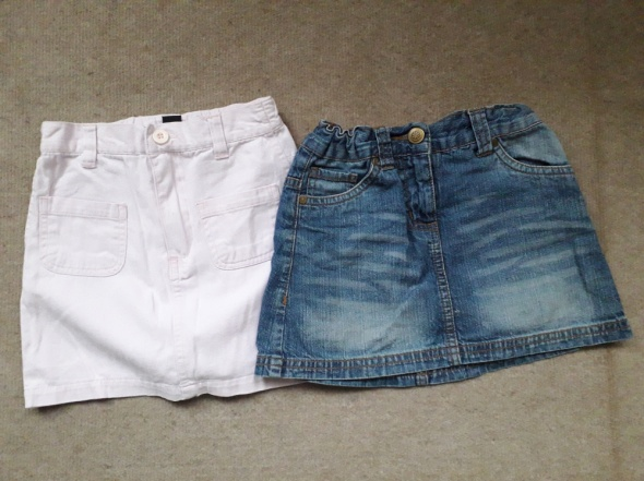 tunika spódniczka jeansowa różowa