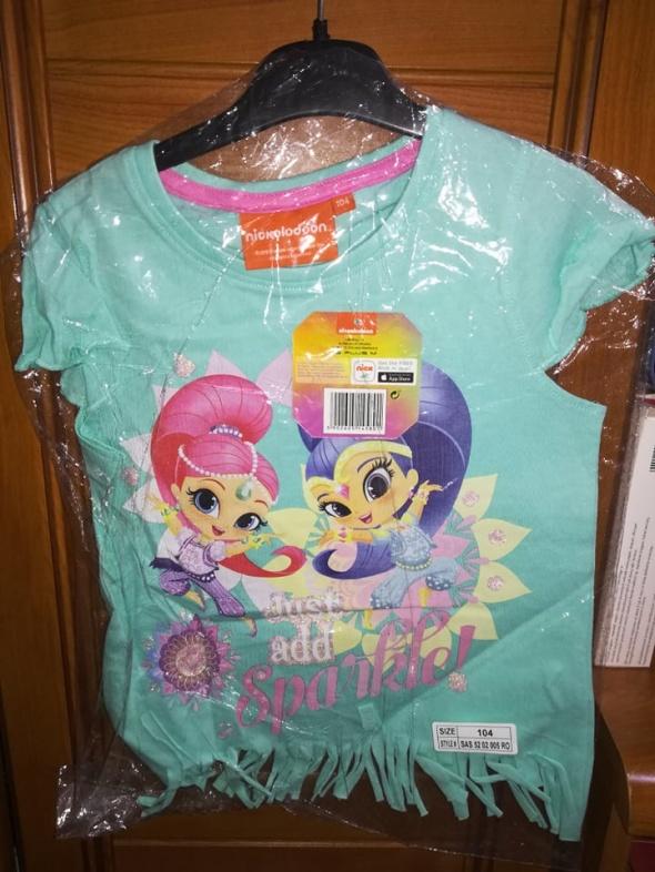 Koszulka Shimmer&Shine Nickelodeon 104 nowa