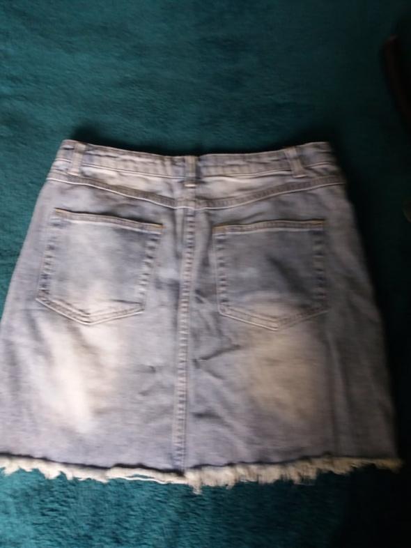 Świetna spódnica jeansowa