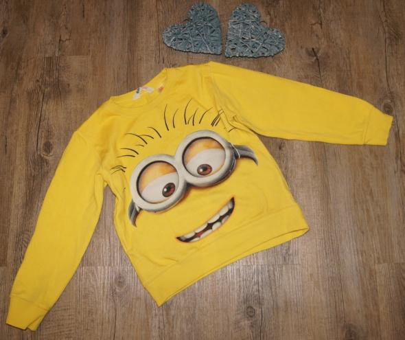 Bluza chłopiec Minionki H&M rozm 122 do 128