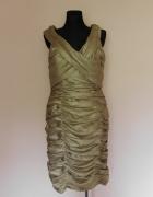 Cachet złota sukienka midi 18 XXL...