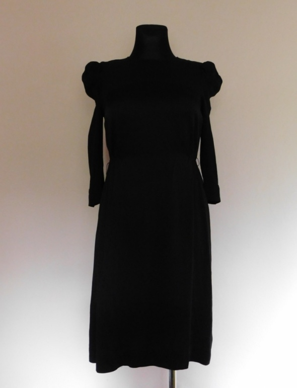 Monsoon czarna sukienka midi 36 38