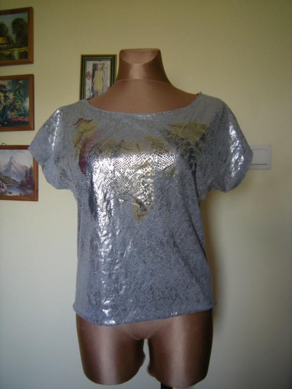bluzeczka z nadrukiem TK max 40