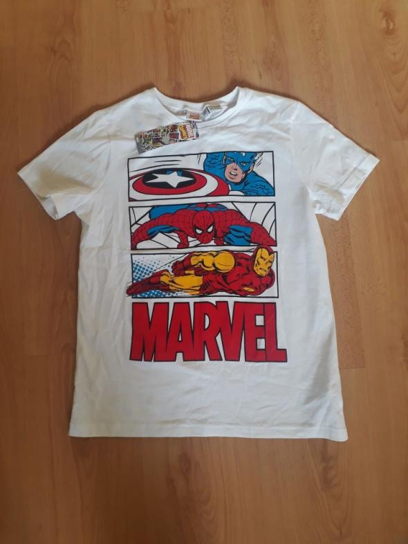 Nowa koszulka Marvel Kapitan Ameryka Iron Man tshirt dziecięcy