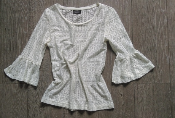 Koronkowa bluzka C&A