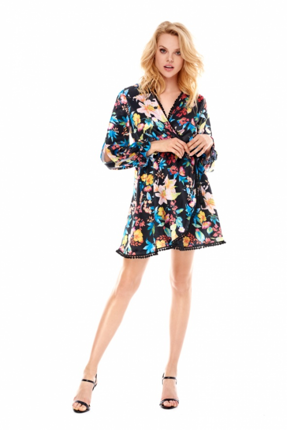 Sukienka sugarfree maui siwiec nowa z metka 36 S