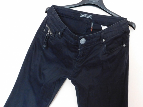 Only spodnie czarne proste 38 40 36 na 32...