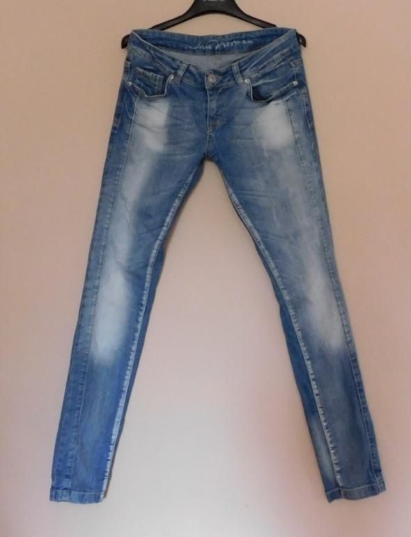 Jane Norman spodnie jeans nebieskie skinny 36 38...