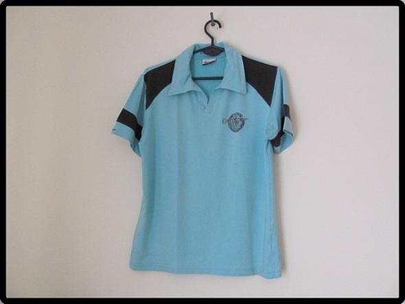 Błękitna koszulka męska polo rozmiar S i M