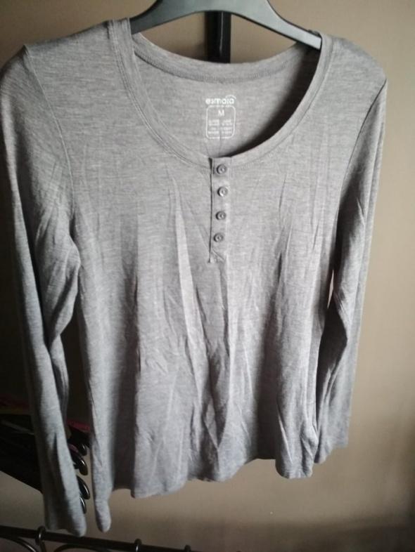 Szara bluzka M ESMARA z guziczkami