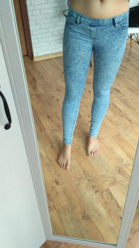 Marmurki tregginsy jeans rurki clockhouse...