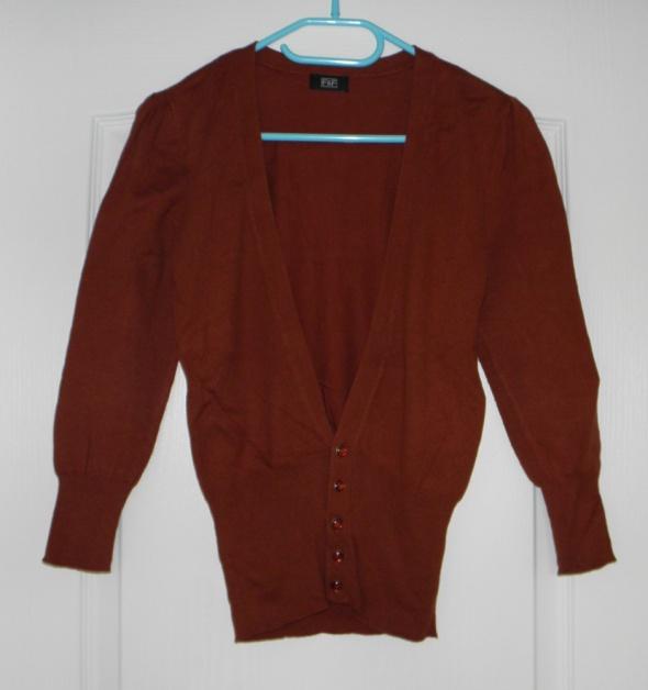 Swetry rudy sweterek kardigan F&F