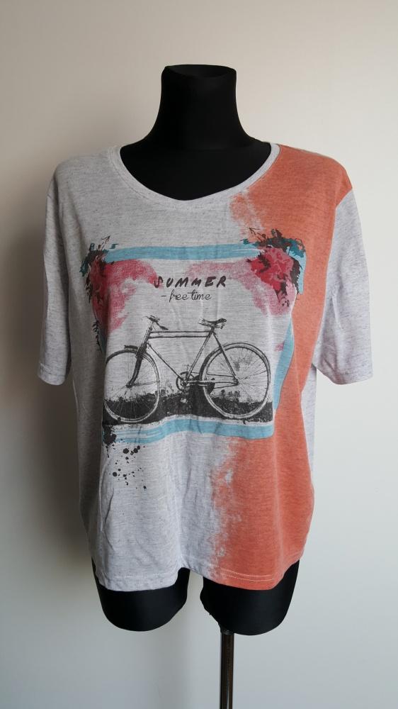 Szara koszulka Moodo XL
