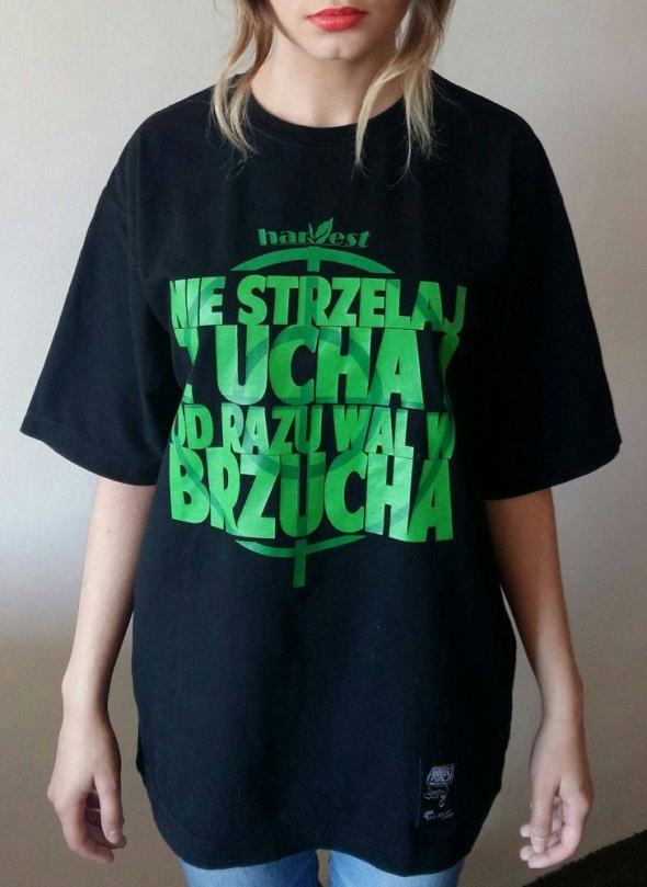 Czarna koszulka Grube Lolo