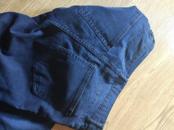 H&m spodnie jeansowe rurki niebieskie ciemne...