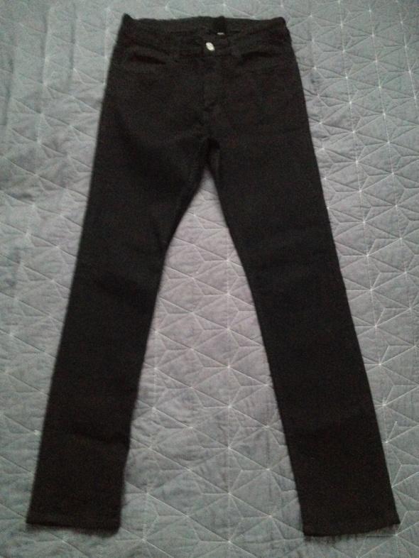 czarne spodnie rozm 164