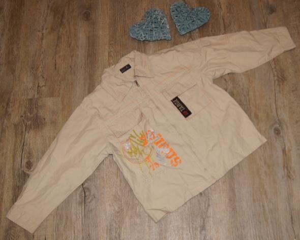 Koszula chłopiec zip rozm 122