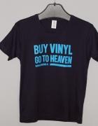 Tshirt damski Buy vinyl go to heaven side one M granat...