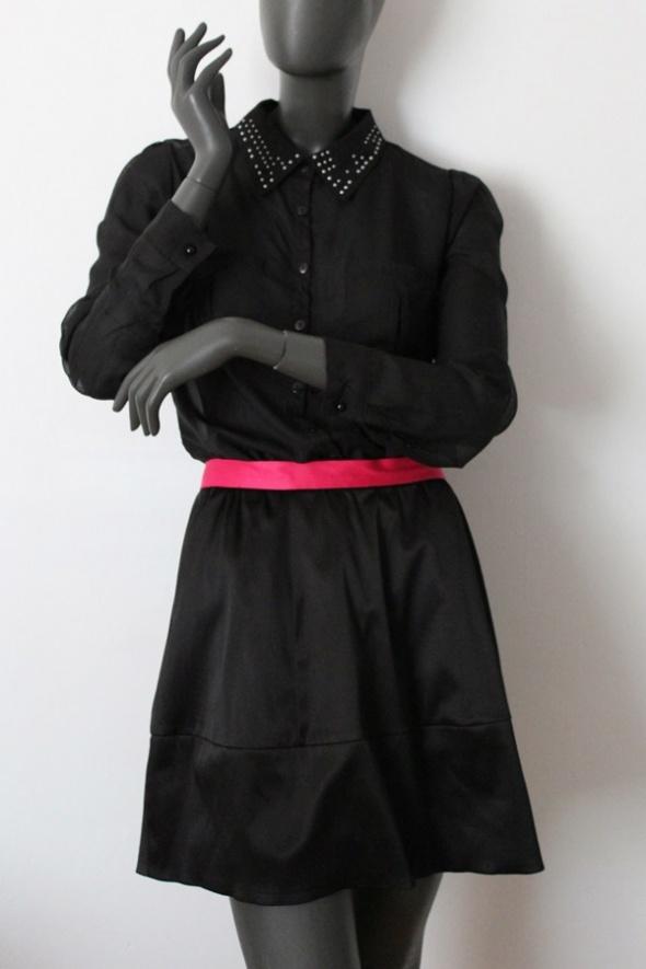Spódnice H&M Rozkloszowana spódnica satynowa bombka 38 M Conscious Collection