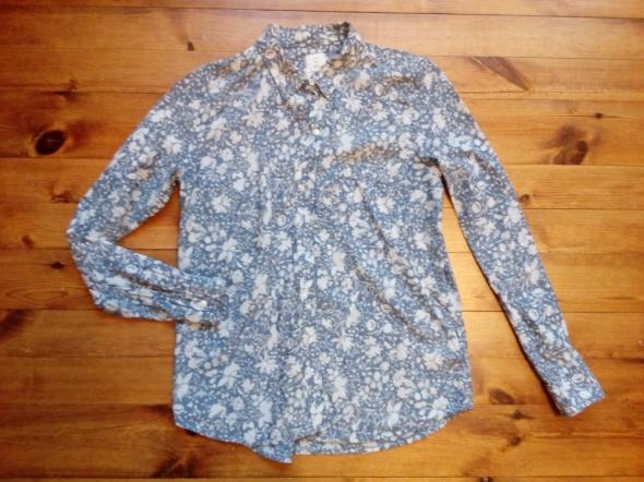 Koszula w kwiatki S