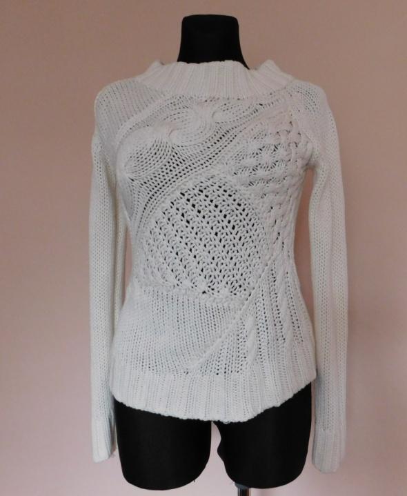 C&A biały sweter 36 38
