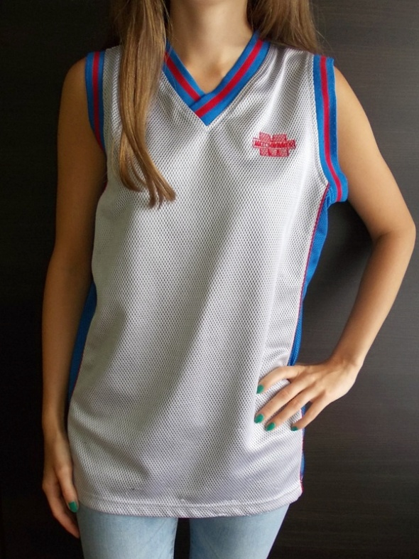 Szara koszulka sportowa z numerem Match Winner S M
